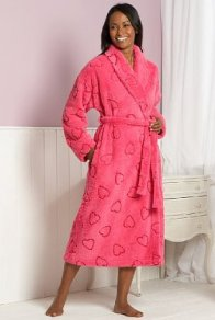 Marks and Spencer Love Heart Dressing Gown