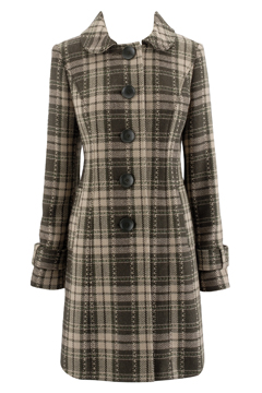 Tartan Coat from Peacocks