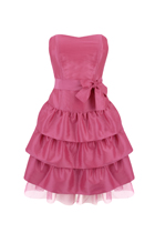 Pink Bow Dress at Peacocks