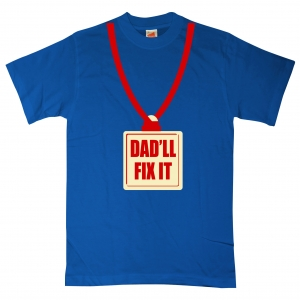 8ball.co.uk - dad'll fix it t-shirt
