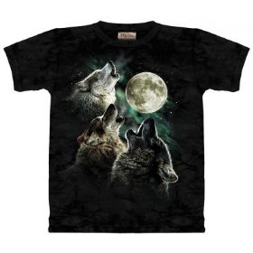 Amazon's legendary Three Wolf Moon T-Shirt