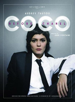 Audrey Tatou as Coco Chanel